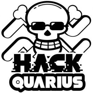 Hackquarius logo cool